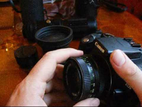 Old M42 Lenses On Canon EOS 350D / Digital Rebel XT