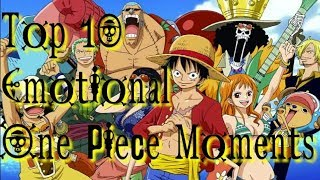 Download Video Top 10 Emotional One Piece Moments ☠ MP3 3GP MP4