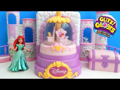 Glitzi Globes Disney Princess Castle Review and Shopkins Giveaway Moose Toys