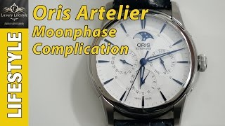 Oris Artelier Moonphase Complication Watch Review • Luxury Lifestyle Channel