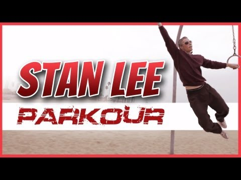 (Stan - Legendary Comic Book Writer Stan Lee decides to skip the car in favor of Freerunning and Parkour! You can download the song