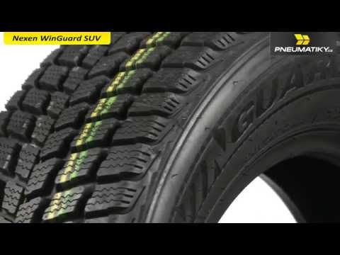 Youtube Nexen WinGuard SUV 215/70 R15 98 T Zimní