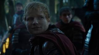 Ed Sheeran made a cameo in Game of Thrones of the season 7 premiere episode.