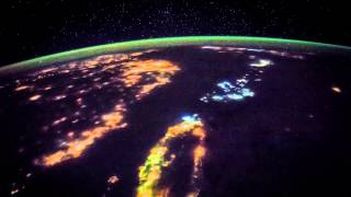 ISS Timelapse - From Taiwan to Japan by night (22 Maggio 2015)