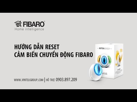 Reset cảm biến chuyển động Fibaro