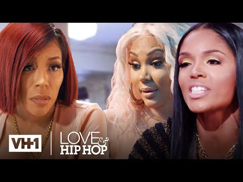 K. Michelle vs. Rasheeda, Lyrica & More   Love & Hip Hop   #AloneTogether