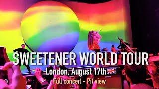 Sweetener Tour London FULL CONCERT - Ariana Grande (August 17th, night 1)