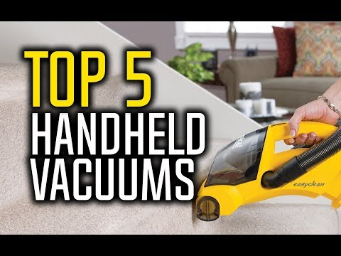 Best Handheld Vacuum Cleaners in 2018 - Which Is The Best Handheld Vacuum?