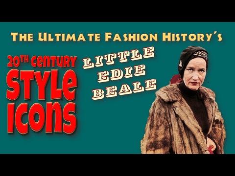 20th CENTURY STYLE ICONS: Little Edie Beale (видео)