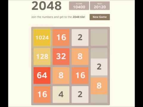 Finir 2048 en 3 étapes et 10 minutes