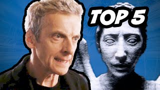 Doctor Who Top 5 Scary Episodes. Peter Capaldi Series 8 Listen vs David Tennant Blink, Caves of Androzani, The Empty Child, ...