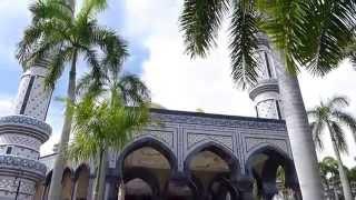 Bandar Seri Begawan Brunei  city images : Bandar Seri Begawan, Brunei - Jame'asr Hassanil Bolkiah Mosque HD (2015)