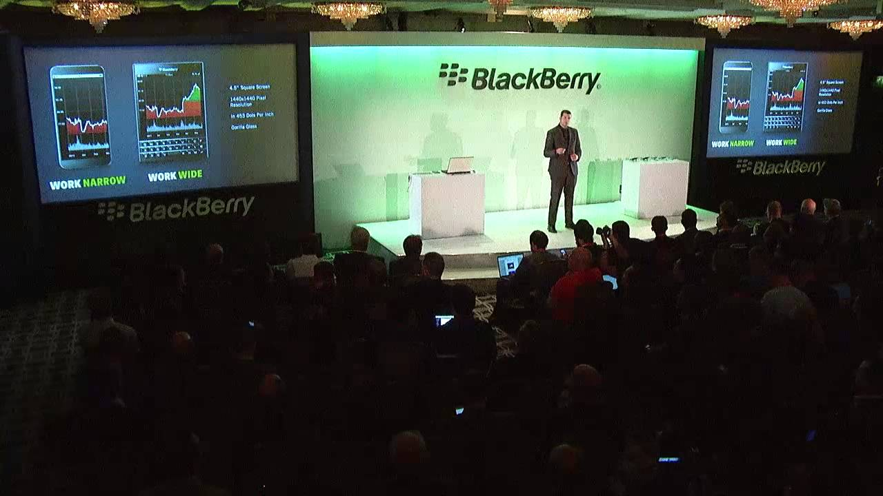 BlackBerry Passport Launch, London – Screen Size