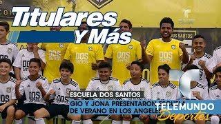 Video oficial de Telemundo Deportes. En medio de los rumores que lo colocan en el Galaxy junto a Gio, los hermanos dos...