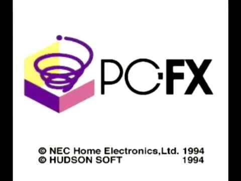 PC-FX startup