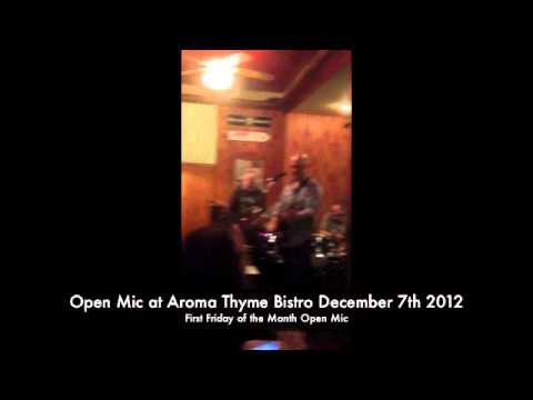 Open Mic Night Jam at Aroma Thyme