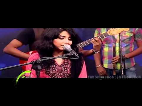 Dolna by Arefin Rumey ft  Porshi (Studio Live HD)   www DeshiBoi com   Bangla Music Video