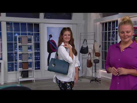 RADLEY London Liverpool Street Leather Medium Shoulder Bag On QVC