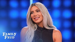 Video Here's why Kim & Kanye LOCK THE DOOR! | Celebrity Family Feud MP3, 3GP, MP4, WEBM, AVI, FLV Juni 2018