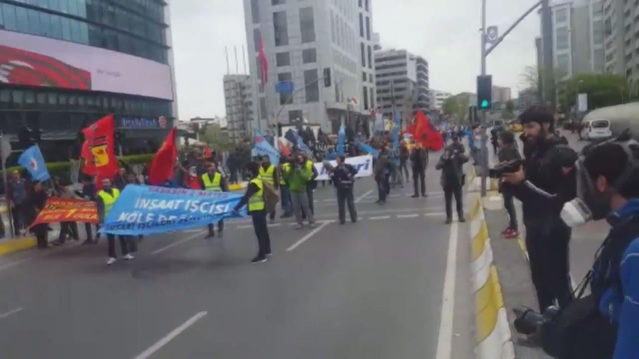 Τουρκία: Δακρυγόνα κατά διαδηλωτών της Πρωτομαγιάς