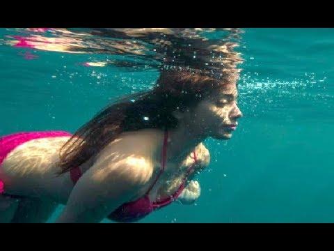 Shriya Saran Underwater Bikini Hot Shots