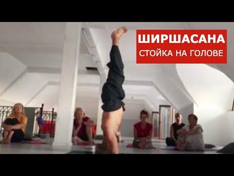 Отстройка ширшасаны от Анатолия Зенченко