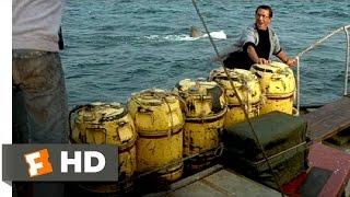 Jaws (1975) - Barrels Scene (5/10) | Movieclips
