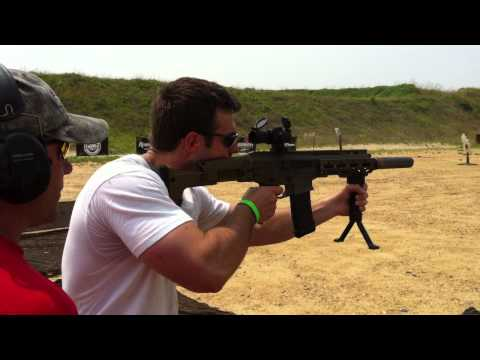 Remington ACR with AAC can full auto - 2011 Silencer Shoot