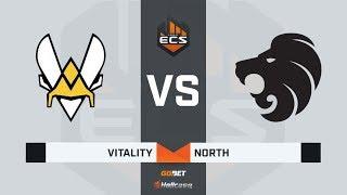 [RU] Vitality vs North | Map 1 – Nuke | ECS Season 7 Finals