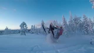 3. First ride of season 17-18 - Arctic Cat M6000 Sno Pro