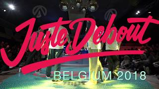 Sam Sam & Yanka vs Elite Kazakh Team (Adilkhan & Askhat) – Juste Debout Belgium 2018 Popping Semi Final