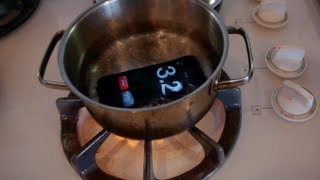 המעבדה: מה יקרה אם תבשלו את האייפון שלכם?