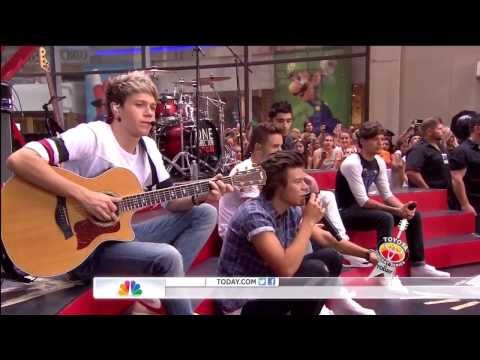 One Direction - Little Things (Live on Today Show) HD (видео)