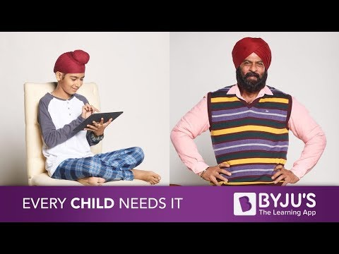 BYJU'S - New & Personalized Learning App - Interactive Learning - TVC - 2018 (видео)
