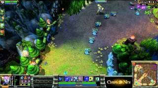 (HD100) Qualifications DreamHack ALS vs myR -part 1- League Of Legends Replay [FR]