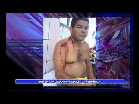 JATAÍ | Homem é baleado na porta de sua casa e sobrevive