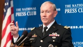 General Martin Dempsey Speaks at National Press Club Luncheon - 10/10/12
