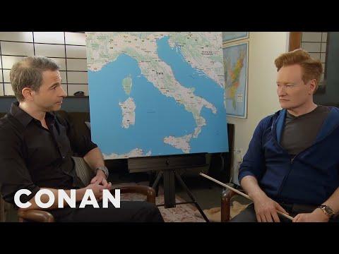 Conan & Jordan Schlansky Plan Their Trip To Italy  - CONAN on TBS