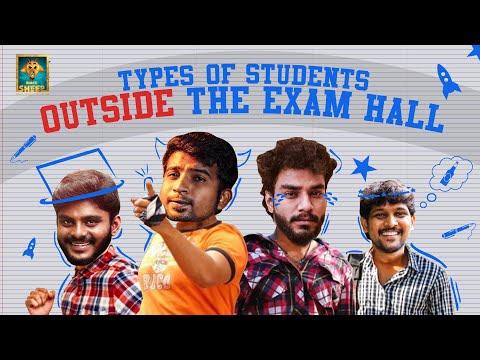 Types of Students Outside the Exam Hall | Random Video | Blacksheep
