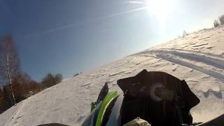 10. SNOWMOBILE ARCTIC CAT HCR is the best