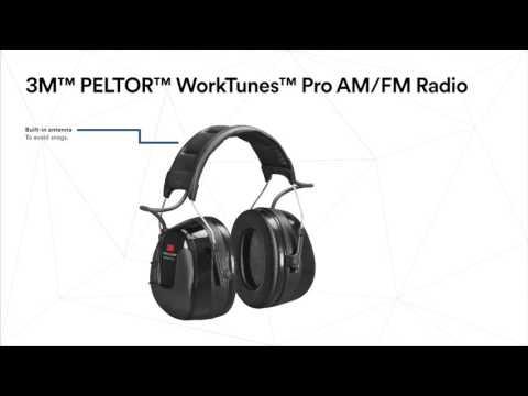 3M™ PELTOR™ WorkTunes™ Pro FM/AM Radio