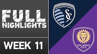 HIGHLIGHTS: Sporting Kansas City vs. Orlando City SC by Major League Soccer