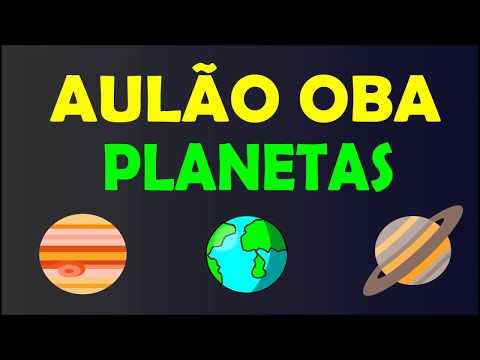 AULÃO OBA - PLANETAS