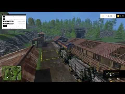 Scania R730 forest and trailer v1.0