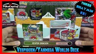 Pokemon Cards 2016 World Championships Yanmega Vespiquen Deck Opening   Senior Champion by ThePokeCapital