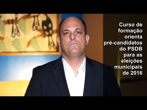 Formação e orientação para candidatos do PSDB em 2016