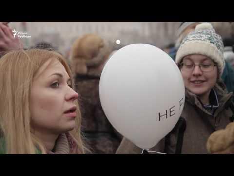 Акция против передачи Исаакиевского собора РПЦ (видео)