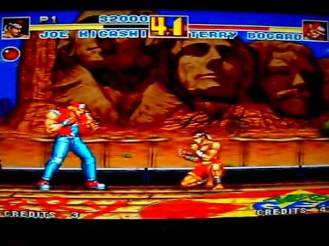 fatal fury special neo geo moves