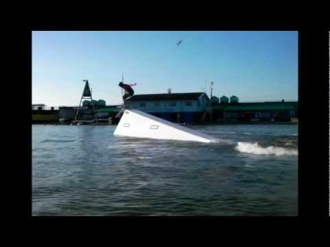 New rails at Lagoon wakepark, Brighton