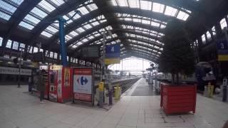 Video Lille train station. محطة قطار ليل الفرنسية السياحة في أوروبا MP3, 3GP, MP4, WEBM, AVI, FLV September 2017